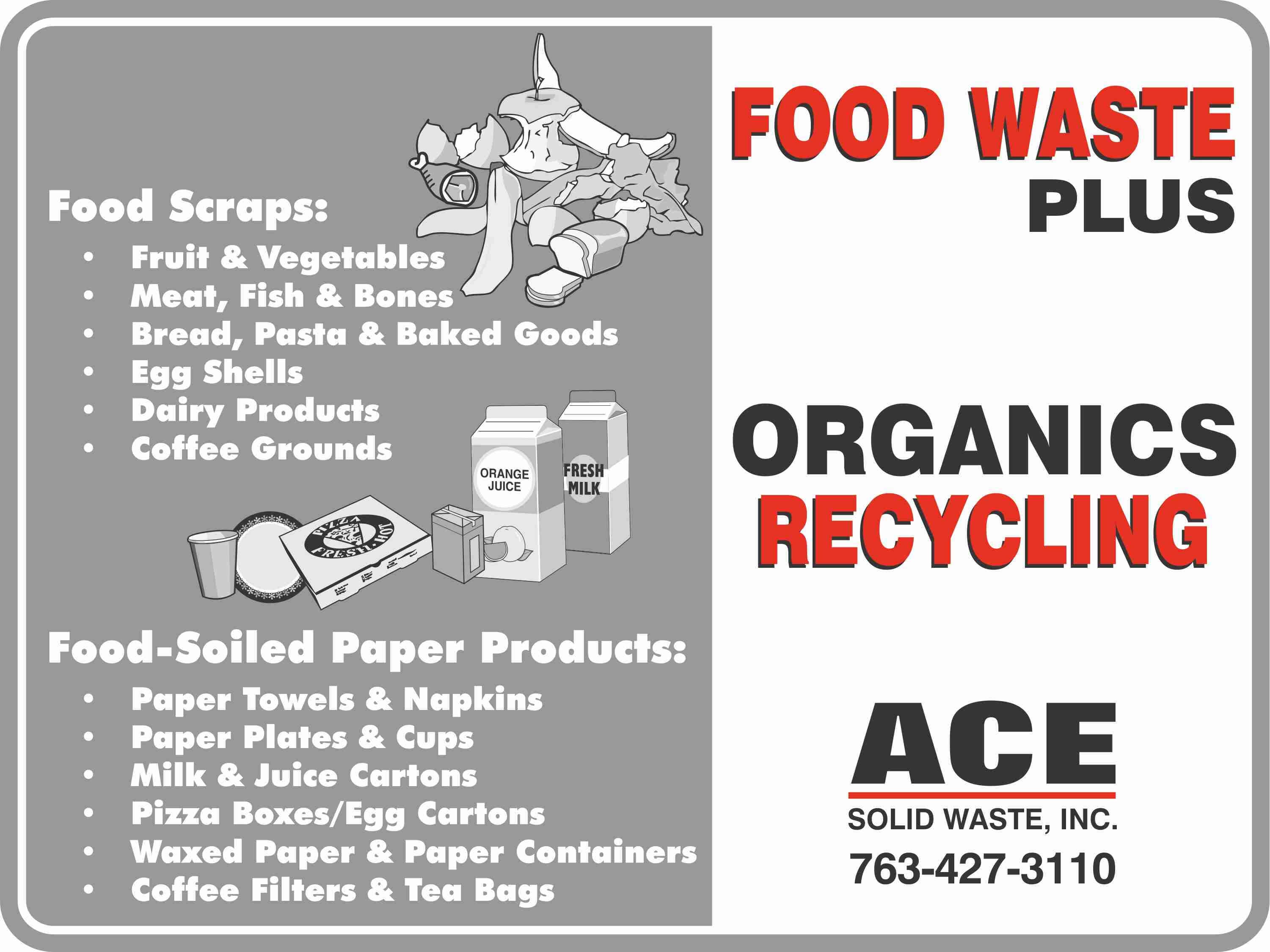 Food Waste Plus Organics Recycling service