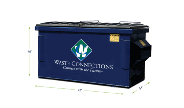 Commercial Waste Services 4 Yards Dumpster