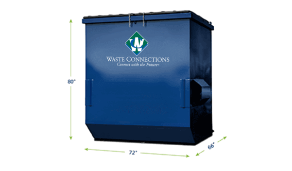 Commercial Waste Services 8 Yards Dumpster