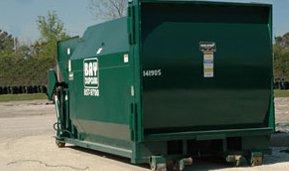 Commercial Trash Compactor Bay Disposal