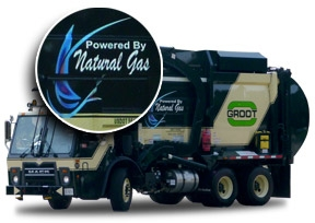 Bio-Diesel Fueled Truck
