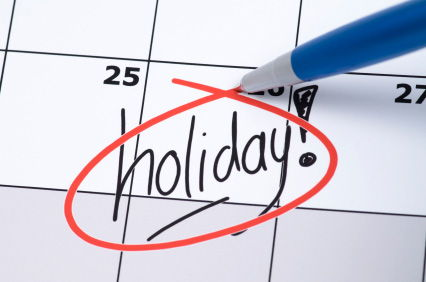 Observed Holidays