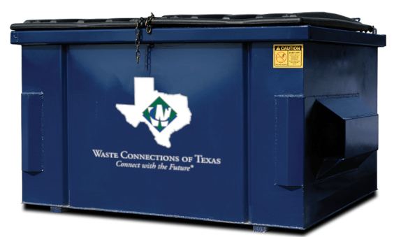 Waste Connetions Of Texas Dumpster