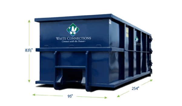 Residential Roll-Off 4 Yards Dumpster
