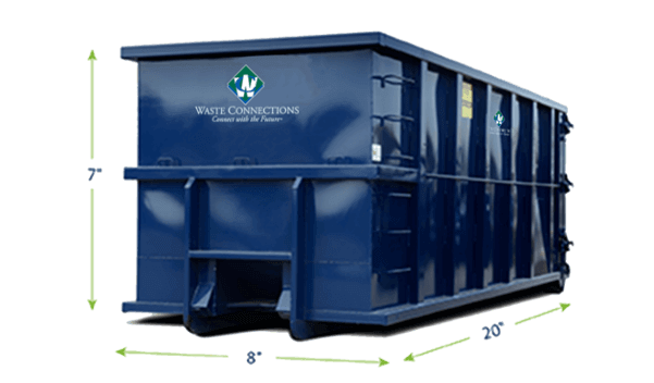 Residential Roll-Off 6 Yards Dumpster