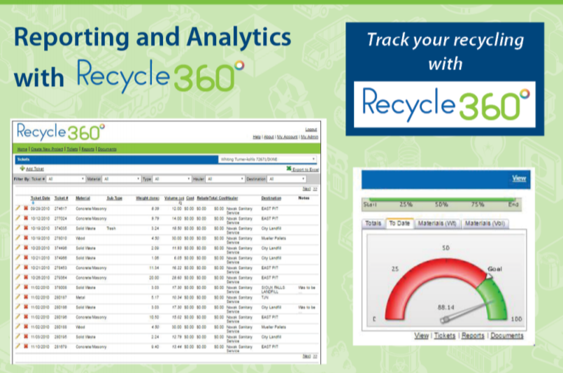 Recycle Reporting