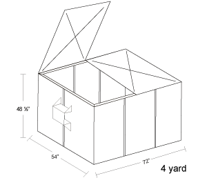 4 Yard Container