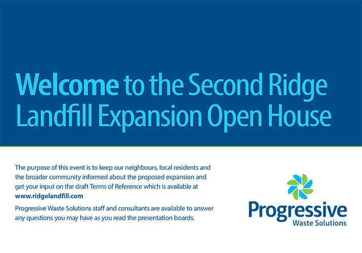 Ridge Landfill Holds Open House on June 28, 2016