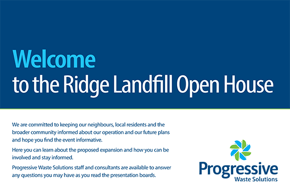 Ridge Landfill Holds Open House on May 3, 2016