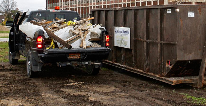 Rock River Disposal Roll Off Dumpster Service