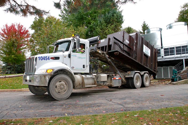 Rock River Disposal Commercial Compactor Service