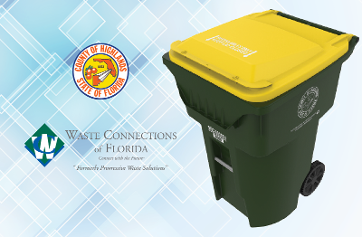 Highlands County - Recycle Cart