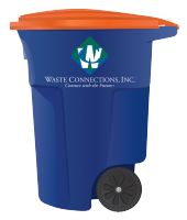 Recycling Cart - Waste Connections Colorado Springs