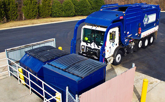 Commercial Dumpster Compactors Roll Off Recycling Waste Removal