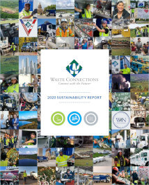 Waste Connections-2020 Sustainability Report